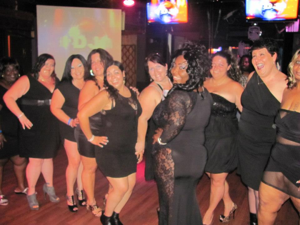 Ebony bbw party