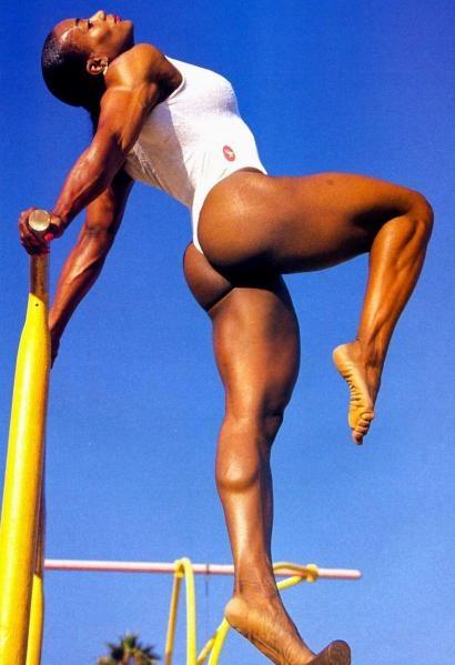Training female bodybuilding competition