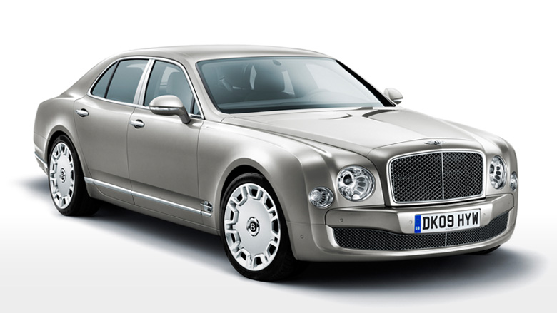 The Mulsanne by Bentley