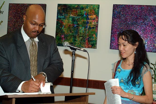 My First Book Signing