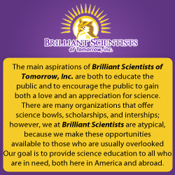 Brilliant Scientists of Tomorrow, Inc
