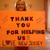 Hurricane Sandy - Thank You For Helping Us Love New Jersey
