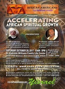 Accelerating African Spiritual Growth with Prof James Small and Dr. Wade Nobles
